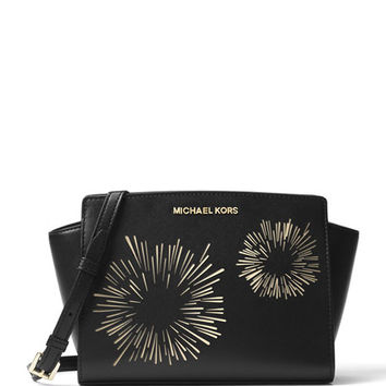 MICHAEL Michael Kors Selma Medium Firework Messenger Bag