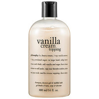 Philosophy Vanilla Cream Topping Shampoo, Shower Gel & Bubble Bath : Shop Body Cleanser | Sephora