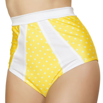 High-Waisted Pinup Style Shorts