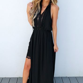 Just An Illusion Maxi: Black