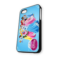 Walt Disney Princesses (World Snow White Ariel The Little Mermaid Beauty And The Beast) iPhone 5C Case