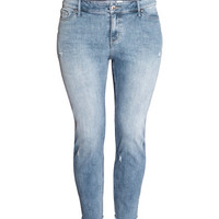 H&M+ Girlfriend Ankle Jeans - from H&M