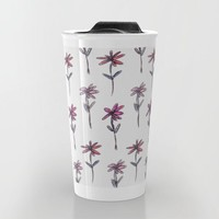 Sweet Floral pattern Travel Mug by Sandra Arduini | Society6