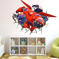 Baymax 3D Wall Decal