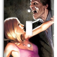 Buffy The Vampire Slayer G3 4 Light Switch Cover