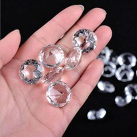 50 pcs Crystal Diamond Glass Crafts