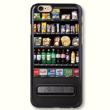 Snack Vending Machine Protective Phone Case For iPhone case & Samsung case, 50194