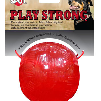 Play Strong Virtually Indestructible Rubber Ball
