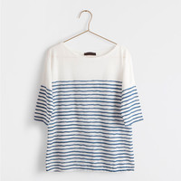 STRIPED T-SHIRT - Woman - Loungewear | Zara Home United States