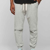 Drifter Cade Grey Engineer Knee Jogger Pant- Grey