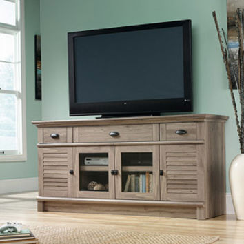 "Walmart: Sauder Harbor View TV Stand for TVs up to 70"", Salt Oak"