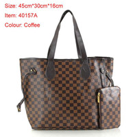 LV handbag with wallet