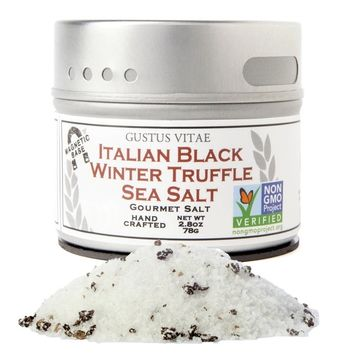 Italian Black Winter Truffle Sea Salt