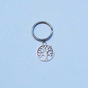 Tree of Life Keychain, Tree of Life, Best Friend Keychain, Nature Keychain, Tree Charm, Personalized Keychain, Party Favors, Tree Keychain