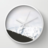 The Good Winter Wall Clock by 83oranges.com