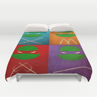 TMNT Collection Duvet Cover by Fabvalle