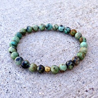 """Change"" African Turquoise Bracelet"
