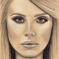 """Custom portraits in brown paper with pencil. 8x10"""". Black and white portraits. Art with a cause. Black and white drawing. Custom gift."""