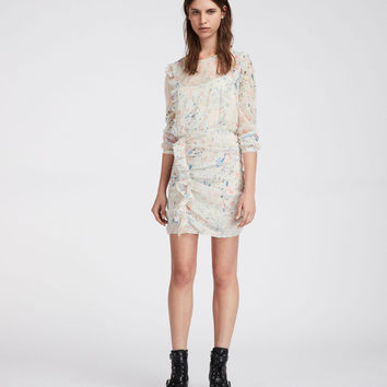 ALLSAINTS UK: Womens Flint Juni Dress (chalk_white)