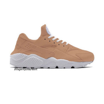 SALE 20% OFF Hand Painted Tan Nike Huaraches | Women, Men, Girls and Boys