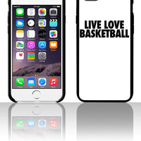 Live Love Basketball 5 5s 6 6plus phone cases