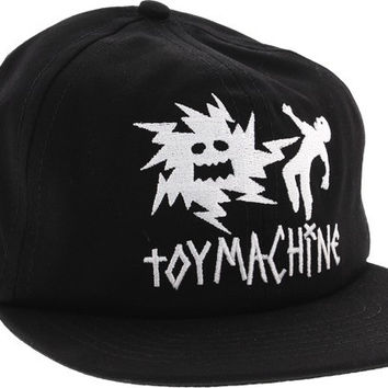 Toy Machine Electric Monster Mesh Hat Adjustible Black