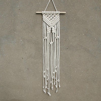 Small macrame wall hanging Woven wall hanging Weaving wall decor