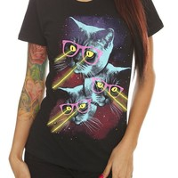 Laser Cats Girls T-Shirt