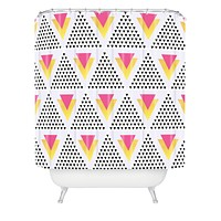 Elisabeth Fredriksson Triangles In Triangles Shower Curtain