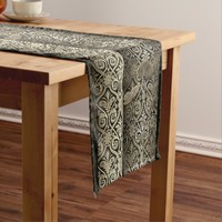Vintage Style & Chic Short Table Runner