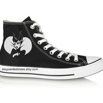 Maleficent Converse Shoes