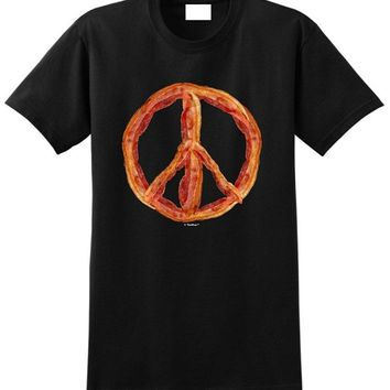 Bacon Peace Sign T-shirt - Tee