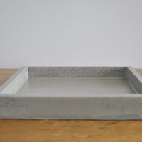 Multi-Purpose Concrete Valet Tray / Catchall Tray