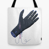 Weird dream about a needle Tote Bag by Rodrigo Fortes
