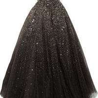 Marchesa Sequined tulle gown - 55% Off Now at THE OUTNET