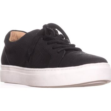 naturalizer Cairo Lace-Up Sneakers, Black Luxor, 7 W US