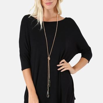 1/2 Sleeve Tunic