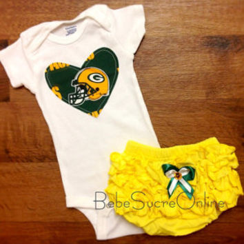 Green Bay Packers Girls Outfit