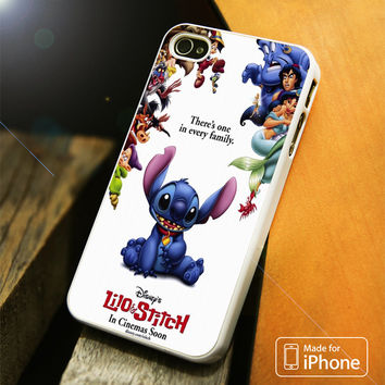 lilo and stitch disney iPhone 4(S),5(S),5C,SE,6(S),6(S) Plus Case