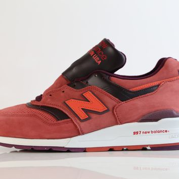 BC QIYIF New Balance Made in USA 997 Red Burgundy M997DTAG