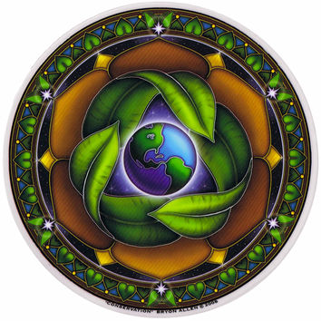 Conservation Window Sticker on Sale for $3.00 at The Hippie Shop