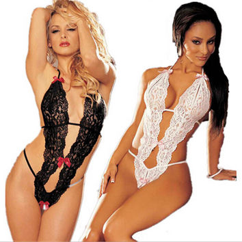 Lace Sexy Women Lady Sleepwear Pinup Super Hot Underwear Nightwear Dress lingerie