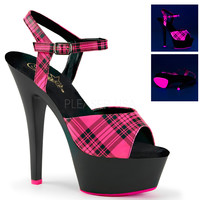 Ankle Strap Stripper Shoe-6 Inch Heels