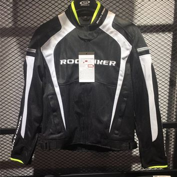 men's motorcycle clothing ride jackets automobile race clothing mesh motorcycle jacket/cycling jacekts have protection