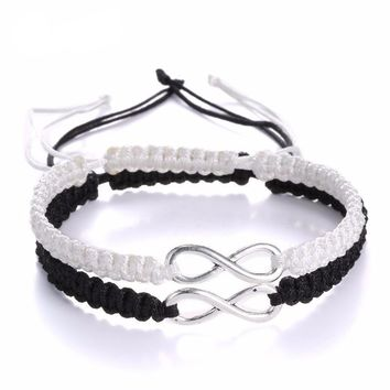 Infinity Couple Bracelets - 2 pcs