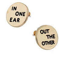 In One Ear Studs
