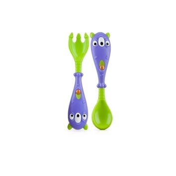 iMonster™ Spoon & Fork Set 2-Pk