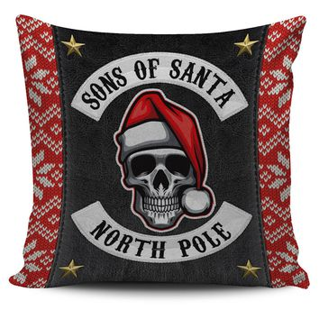 Sons Of Santa Pillow Cover