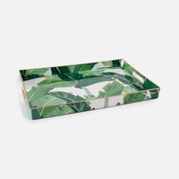 Rectangle Banana Leaf Tray