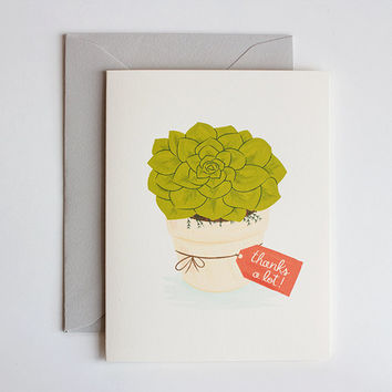 Thank You Card - thank you greeting card thinking of you thanks birthday thank you card mom grandma friend wedding card